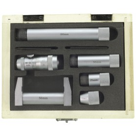 Binnenmicrometerset 50-200mm met verlengstukken Limit MMSS250