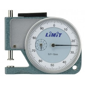 Analoge diktemeter 10 mm zakmodel Limit DMPOCK