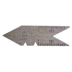 Draadsnijmeter met hoekinstelling withworth  Limit THRE