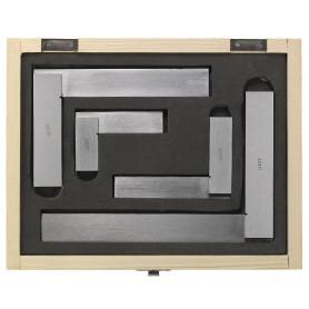 Set 4 precisie blokwinkelhaak DIN875/2 Limit BWHSET