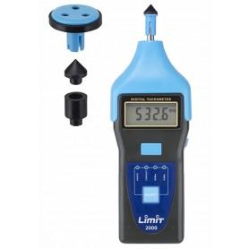 Digitale tachometer tot 100.000 tpm / 2000 m/min Limit R2000