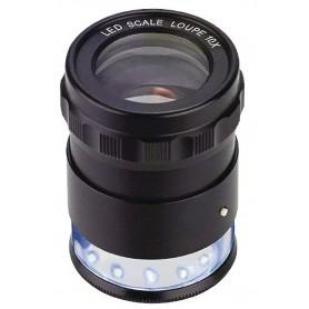 Zak vergrootglas / loep met schaalverdeling en LED verlichting Limit LOP10B