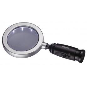 Vergrootglas HAND x3 / 100mm m. 14 LEDs Teng Tools 587H