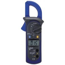 Digitale multimeter en ampèremeter CAT II 600V 400A AC Limit LIMIT20