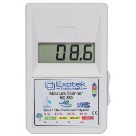 vochtscanner Exotek Instruments MC-550