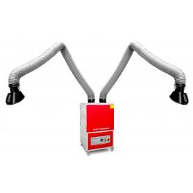 Lasafzuiging 2 armen 400V MW-Tools LA2802