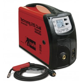 Inverter lasapparaat MIG-MAG 220 A - 1,2 mm Telwin TECHNOMIG215