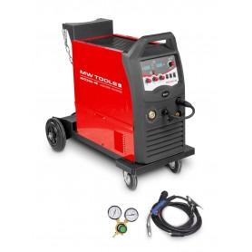 MIG MAG industrieel lasapparaat 350A MW-Tools MIG350I-4R