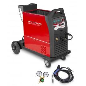 MIG MAG industrieel lasapparaat 250A MW-Tools MIG250I-4R