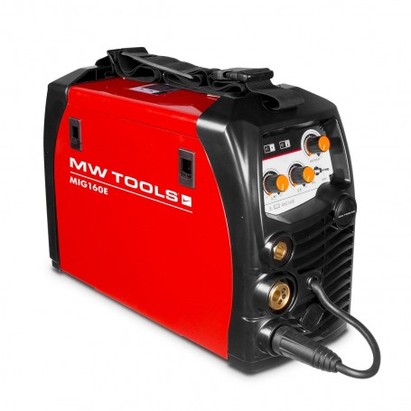 Inverter lasapparaat MIG-MAG-FLUX 160A. MW-Tools MIG160E