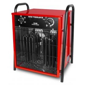 Warmeluchtblazer elektrisch 15kW 3x400V MW-Tools WEL15
