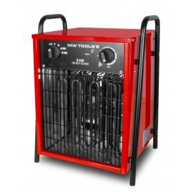 Warmeluchtblazer elektrisch 9kW 3x400V MW-Tools WEL9