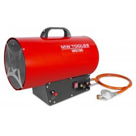 Warmeluchtblazer op propaangas 30kW MW-Tools WG100