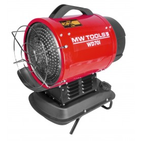 Infrarood dieselheater 20kW MW-Tools WD70I
