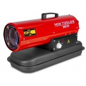 Warmeluchtblazer diesel 20kW MW-Tools WD70
