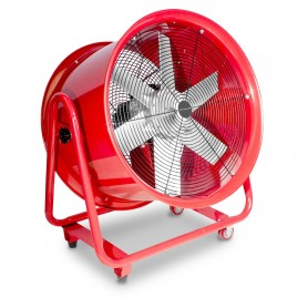 Mobiele ventilator op wielen 2200W 3x400V MW-Tools MV600R3