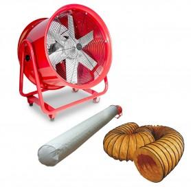 Ventilator 600 mm met accessoires MW-Tools MV600RSET