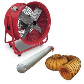 Ventilator 400 mm met accessoires MW-Tools MV400RSET
