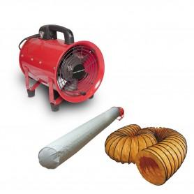 Ventilator MV200 met accessoires MW-Tools MV200SET
