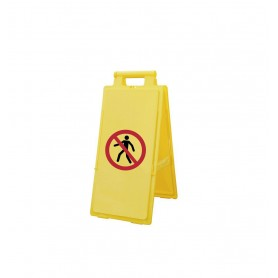 Vloerbord verboden toegangers MW-Tools VM300VV