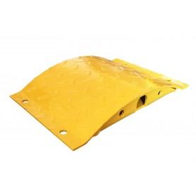 Snelheidsdrempel staal geel 250mm MW-Tools SRT700250