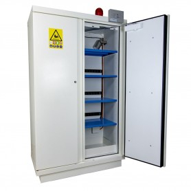 Brandwerende kast Lithium-ion batterijen MW-Tools BVK2LI