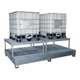 Opvangbak 2 IBC vaten MW-Tools OPBHS24