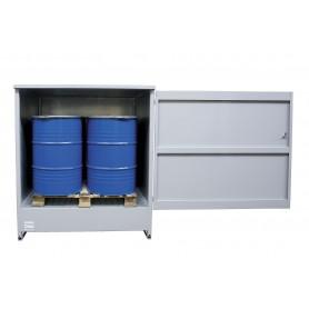 Gesloten opslagkast 4 vaten MW-Tools OQS4
