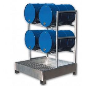 Opvangbak 4 liggende vaten MW-Tools OPBHS4