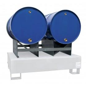 Steun voor 2 liggende vaten MW-Tools OPSS2