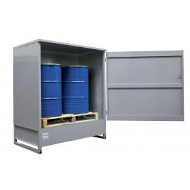 Gesloten opslagkast 2 vaten MW-Tools OQS2