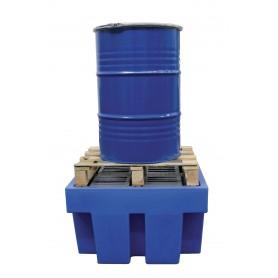 Opvangbak voor 1 vat van 200 lt. MW-Tools OPB12