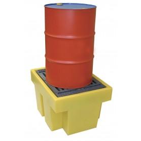 Opvangbak voor 1 vat van 200 liter. Ecospill BR12