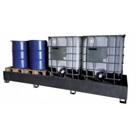 Metalen opvangbak 3xIBC 1523L MW-Tools OPBS36