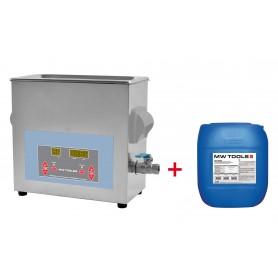 Pack ultrasoonreiniger UCC006 + ECOPLUS5 MW-Tools UCC004PACK