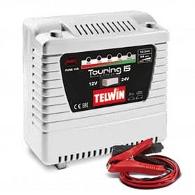 Kleine 12/24 V lader  Telwin TOURING 15