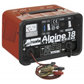 Monofazige batterijlader met boost functie Telwin ALPINE 18