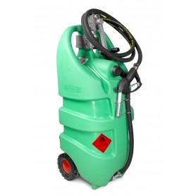 Tank benzine groen 110l, manuele pomp MW-Tools TB110M