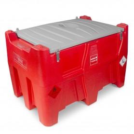 Tank diesel rood PE 440I, pomp 12V  MW-Tools TD44012