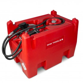 Tank diesel rood PE 220I, pomp 12V  MW-Tools TD22012
