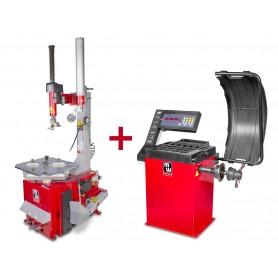 Set bandenwisselaar en balanceermachine MW-Tools BT200 SET2