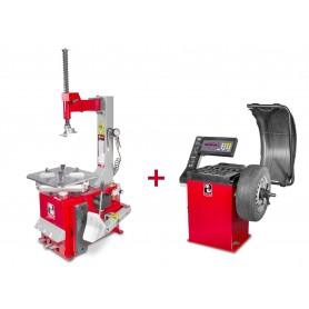Set bandenwisselaar en balanceermachine MW-Tools BT100 +BB200