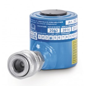 Hydraulische cilinder 10T laag profiel OMCN O360/AM