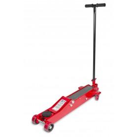 Hydraulische garagekrik 3T - extra lang en laag  MW-Tools CAT3TLL