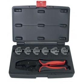 Kabelschoentangenset met 6 klauwen MW-Tools VES1907