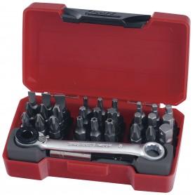 "Bitsset & miniratel 1/4"" 29 dlg Teng Tools TM029"