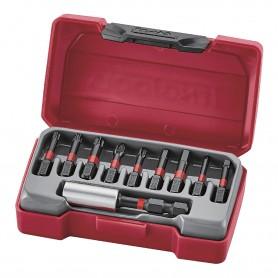 10-delige Impact bitset Rob, HEX, GR, PZ, TX Teng Tools TM010