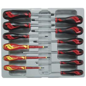 Schroevendraaierset mix reg/1000V 12 dlg Teng Tools MD912N1