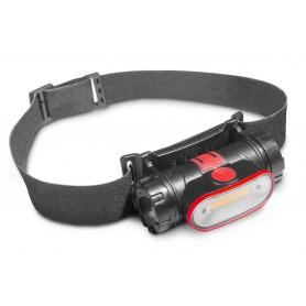 Hoofdlamp met herlaadbare batterij MW-Tools HL300