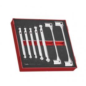 Dubbele kniesleutelset  Teng Tools TEDDF7